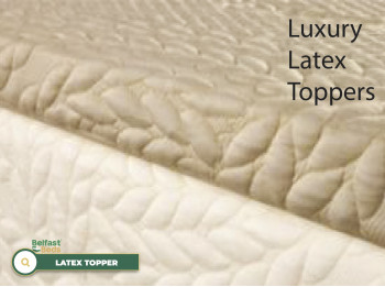 Topper 2.5cm Reflex + 2.5 Latex