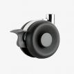 Black Brake Castor
